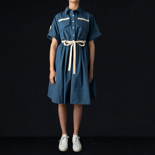 Field Aid's Dress in Blue