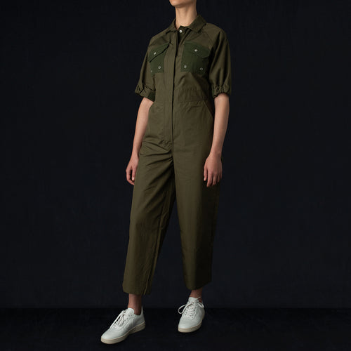 Tropical Fieldwork Suit in Green