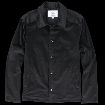 Golden Bear - Capitola Coach Jacket in Black