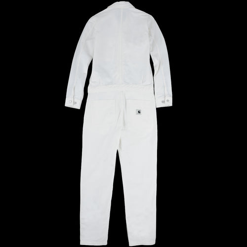Cass Coverall in Off White
