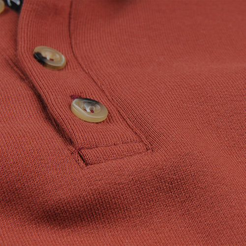 Astral Dreams Polo Sweatshirt in Reddish