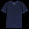 Howlin' - Fons Terry Pocket Tee in Navy