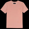 Howlin' - Fons Terry Pocket Tee in Peachy