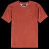 Howlin' - Fons Terry Pocket Tee in Reddish