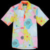 Gitman Vintage - Camp Shirt in Grey Blossom Floral