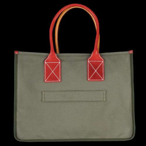 The Atlas Tote in Olive
