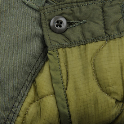Atelier & Repairs - The Quilted Liner Utility Pant in Olive