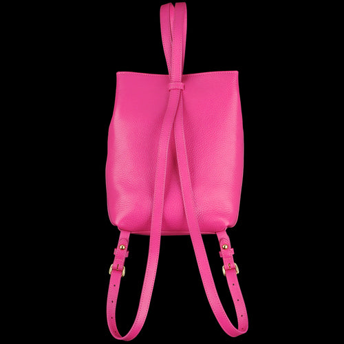 The Mini Sling Backpack in Magenta