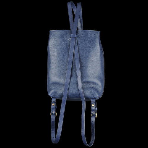 The Mini Sling Backpack in Indigo