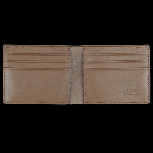 Bifold Wallet in Clay