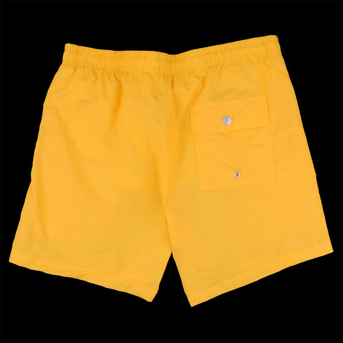 Solid Swim Trunk in Yellow