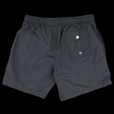 Bather - Solid Swim Trunk in Black