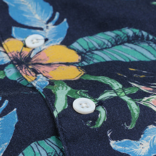 Stachio S/S Shirt in Tropical Blue