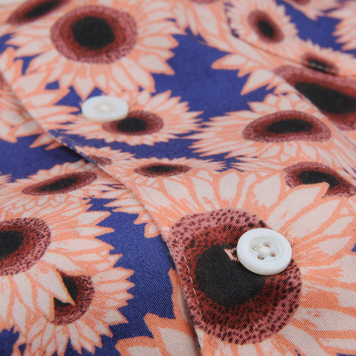 Stachio S/S Shirt in Sunflower Pink