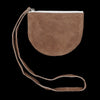 Fot - Half Circle Pouch in Dark Brown