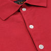 Beams+ - Solid Knit Polo in Burgundy