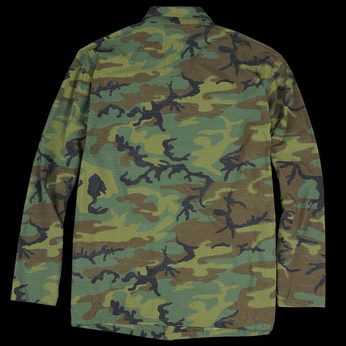 Military Utility Jacket in Camo