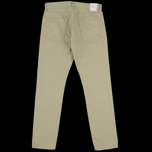 Piqué 5 Pocket Taper Pant in Sage