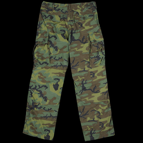 Poplin Military 6 Pocket Pant in Camo