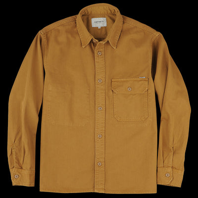 Carhartt WIP - Reno Shirt in Hamilton Brown