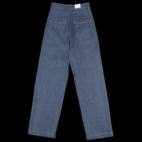 Cardony Pant in Blue Rigid Denim