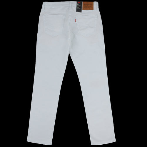 511 Slim Fit in White Bull Denim