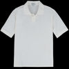 Fred Perry for Margaret Howell - Pique Tennis Shirt in Soft White
