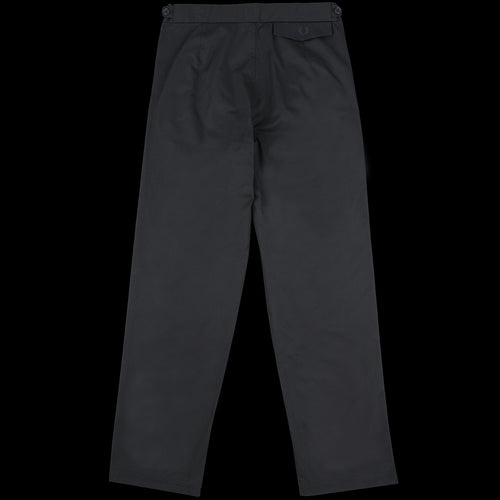Twill Tennis Trouser in Black