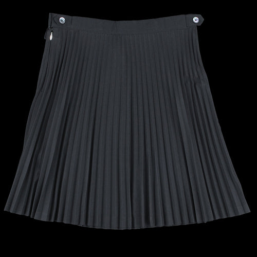 Pleated Tennis Skirt in Black