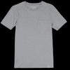 Merz B. Schwanen Good Basics - Crew Neck Tee with Pocket in Grey Melange