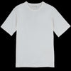 Merz b. Schwanen Good Originals - Oversized 1/4 Sleeve Tee in White