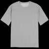 Merz b. Schwanen Good Originals - Oversized 1/4 Sleeve Tee in Grey Melange