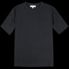 Merz b. Schwanen Good Originals - Oversized 1/4 Sleeve Tee in Deep Black