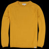 Merz B. Schwanen Good Basics - Relaxed Crew Neck Pullover in Corn