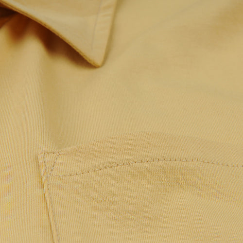 Polo Shirt with Pocket in Corn