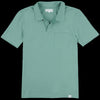 Merz B. Schwanen Good Basics - Polo Shirt with Pocket in Grass