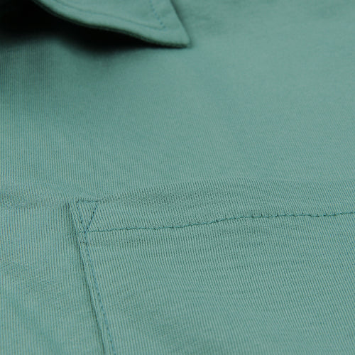 Polo Shirt with Pocket in Grass