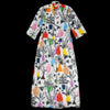 WHiT - Lillian Dress in Potted Plant Print