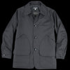 Monitaly - Farmer's Jacket with D Pockets in Vancloth Oxford Black
