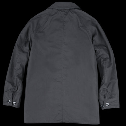 Farmer's Jacket with D Pockets in Vancloth Oxford Black