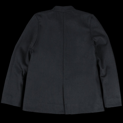 The Diplomat Jacket in Black Twill