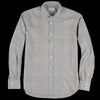 Hartford - Paul Shirt in Carbone Camel & Wine Plaid