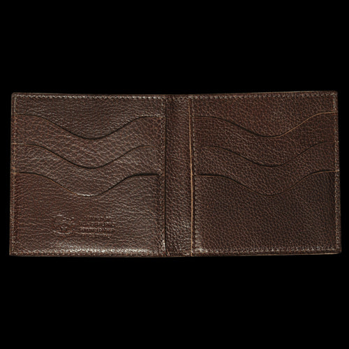 4x4 6 Slot Wallet in Dark Brown