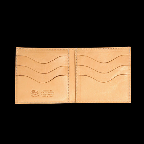 4x4 6 Slot Wallet in Natural