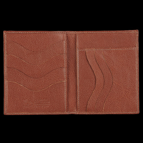 4x5 7 Slot Wallet in Cognac