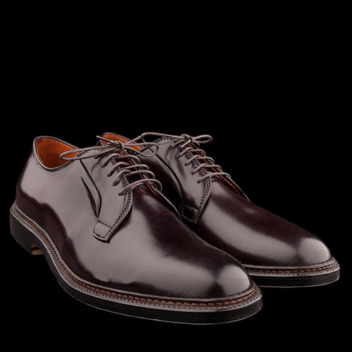 Plain Toe Blucher in Cordovan Color 8990