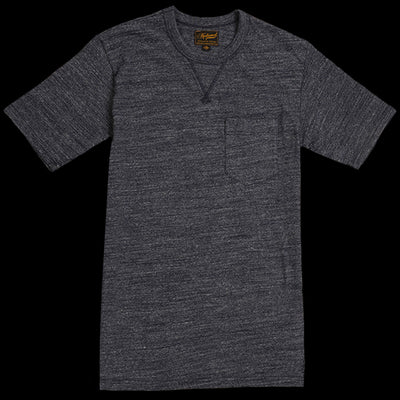 National Athletic Goods - V Pocket Tee in Navy