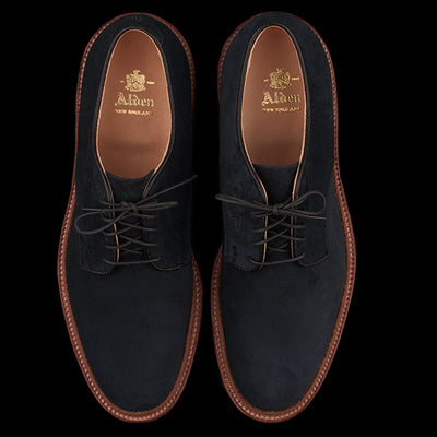 Alden - Unlined Suede Dover in Navy 29331F