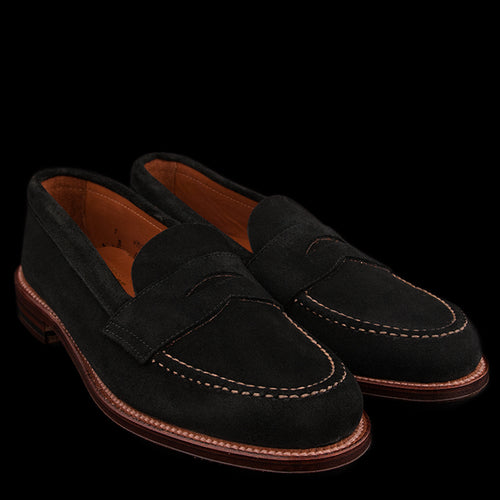 Brenham Leisure Loafer in Black Suede 62413F