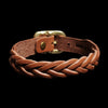 Il Bisonte - Braided Bracelet in Cognac